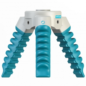 Three Finger Centric SoftGripper - 60° Cone Angle