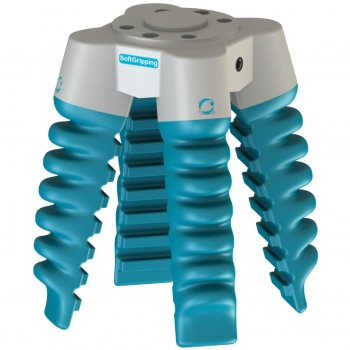 Four Finger Centric SoftGripper - 75° Cone Angle, Control Box - Bundle